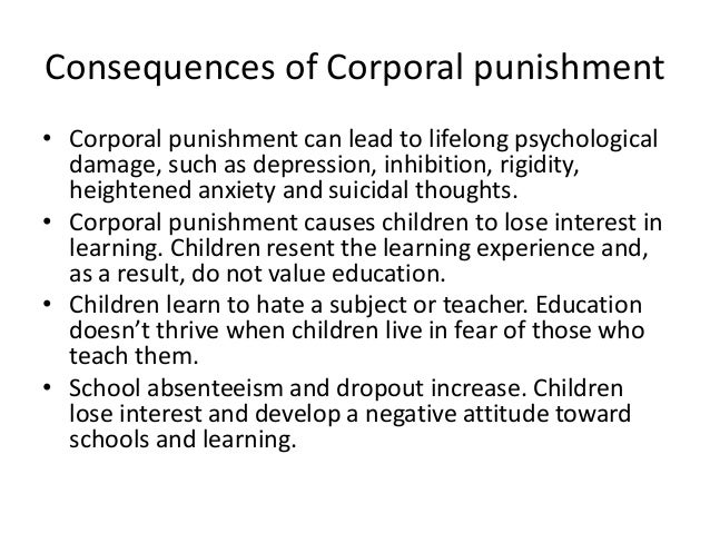 should caning be reintroduced in school essay Should corporal punishment be re-introduced into schools i believe that corporal punishment should not be re-instated in schools for many reasons.