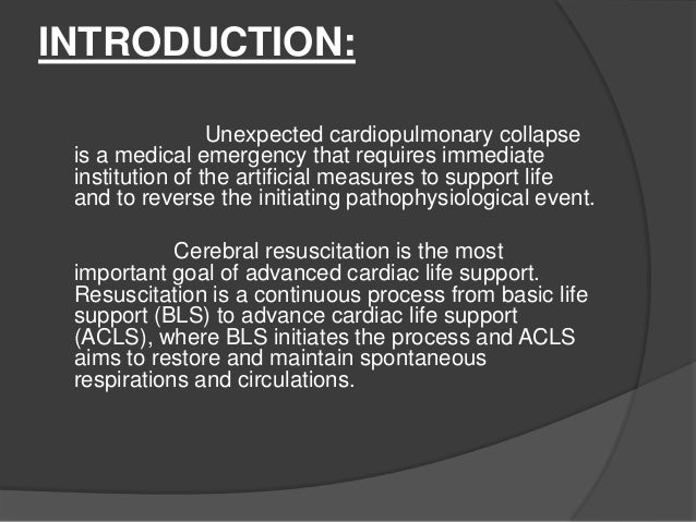 An introduction to how to administer cardio pulmonary resuscitation