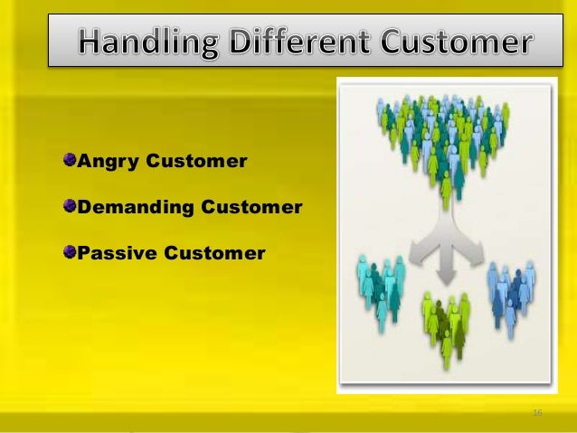 Ppt on customer service module 2