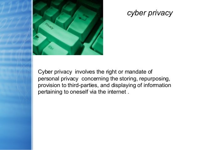 the issues of privacy and crime on the internet Kenya's new computer and cyber crime  kenya's new cybercrime law opens the door to privacy  since legislation already exists that deals with these issues.