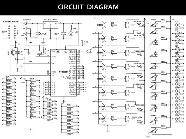Smart Street Lighting System Project Circuit Diagram - Schematic ...