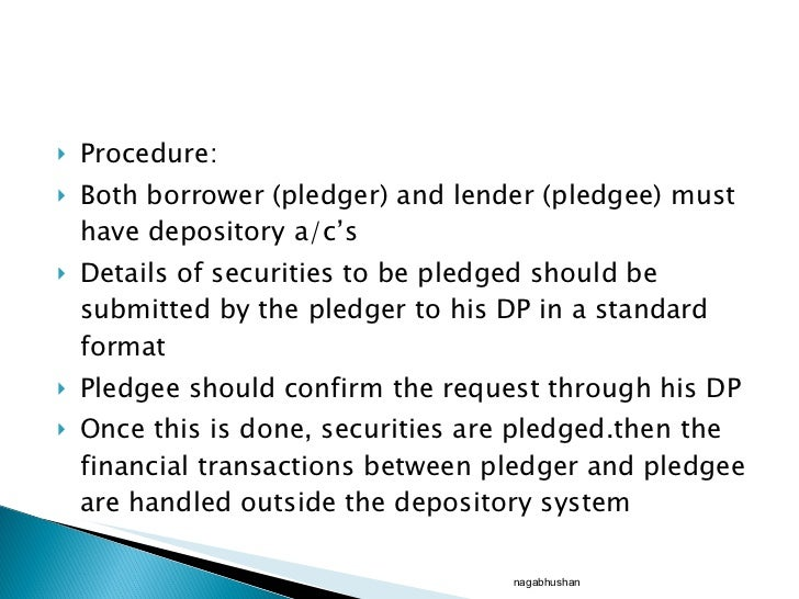 central depository company ppt