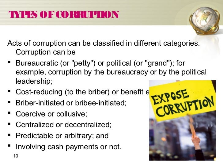 ppt on economic costs of corruption