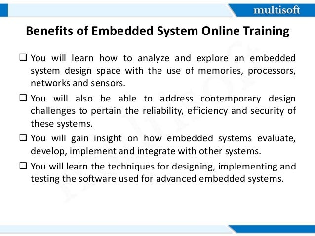 Embedded Systems Certification Course