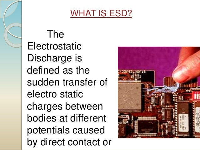 Electrstatic Discharge