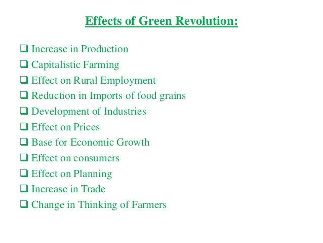 green revolution summary