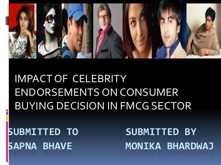 Impact of Celebrity Endorsements