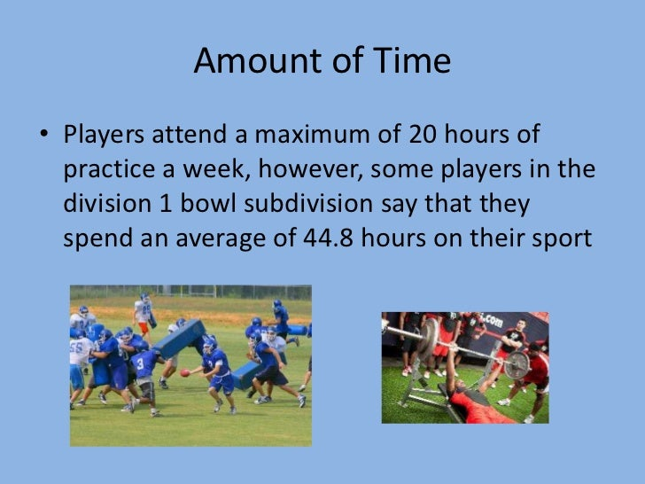 Do College Athletes Have Time to Be Students?