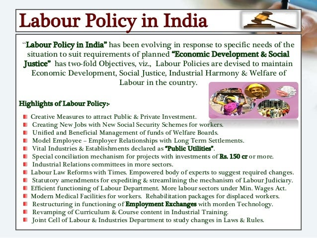 labour welfare measures projects Employees satisfaction & welfare measures a case study to give suggestions to improve the labour welfare measures in labour welfare.