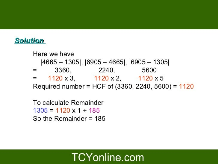 how to find hcf of 4 numbers