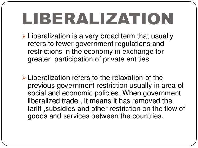 Economic liberalization in India