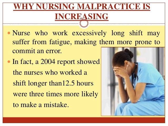how to prevent malpractice in nursing