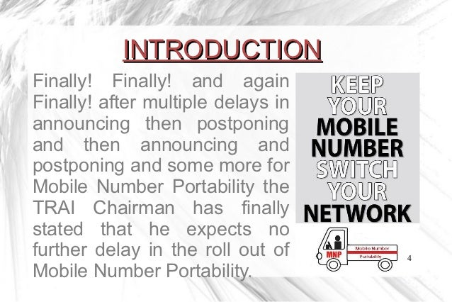 mobile number portablity Faq 1 what is mobile number portability (mnp)  mnp is the ability to shift from your current network provider to another network provider while retaining your.
