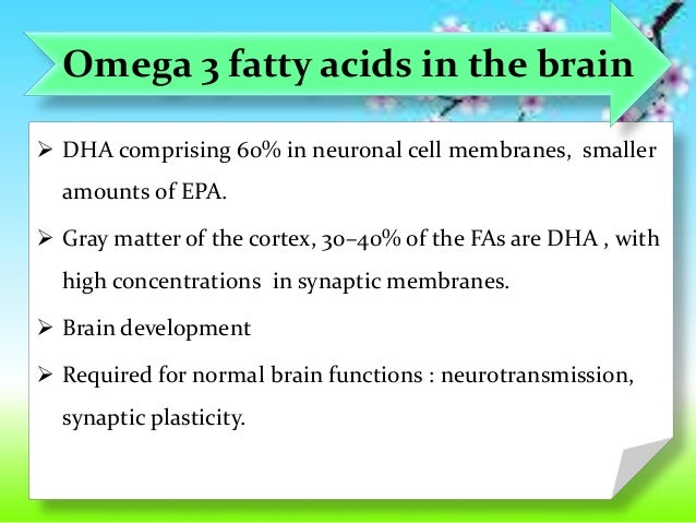 omega 3 fatty acids and alzheimers Omega-3 fatty acids are polyunsaturated fats that are frequently found in plant material, oily fishes and certain varieties of other meats these essential fatty acids are vital for a healthy metabolism, and, if consumed regularly as part of a healthy diet, have been shown to reduce the risk for a number of illnesses—including cancer, cardiovascular disease and developmental disorders.