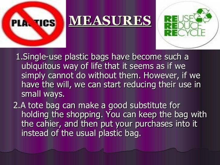 plastic pollution ppt, Presentation templates