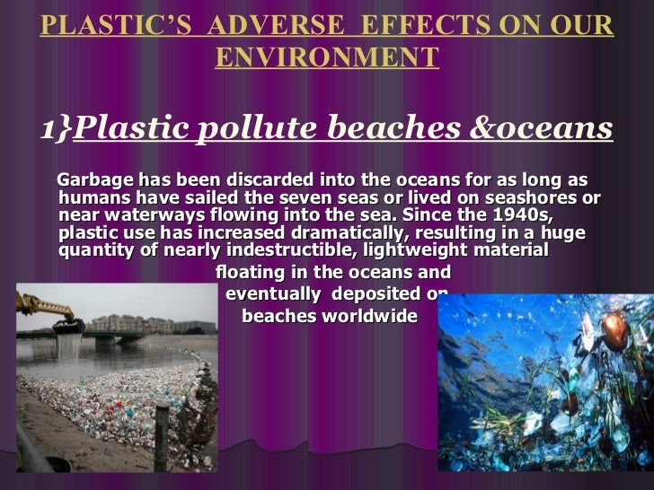 Plastic Pollution Ppt
