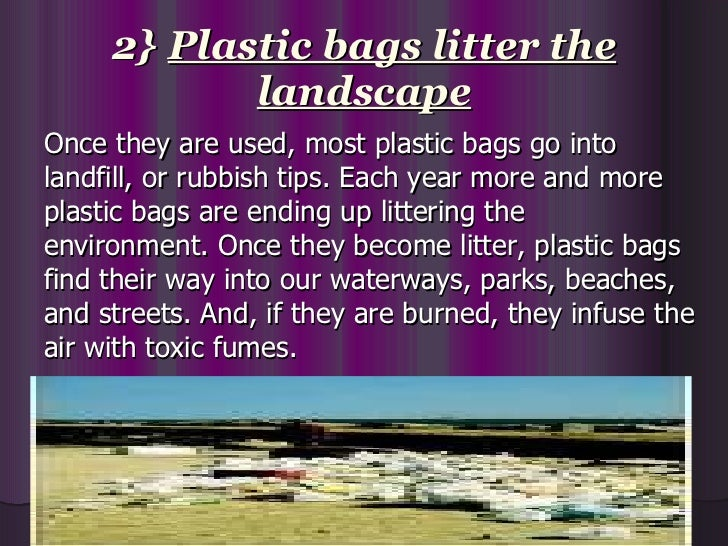 Say no to plastic short essay