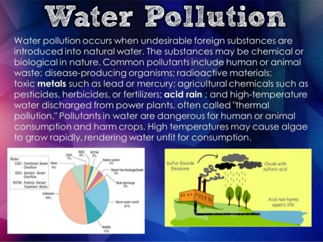 water pollution and global warming Air pollution changes our planet's climate, but not all types of air pollution have the same effect there are many different types of air pollution some types cause global warming to speed up.