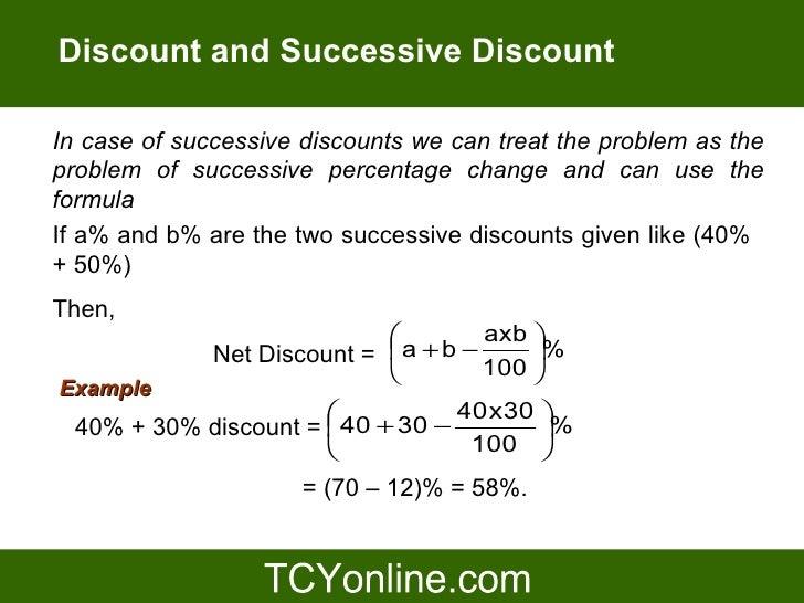 Trade Discount Formula & accounting course in hindi urdu ...