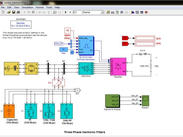 how to make a low pass filter in simulink