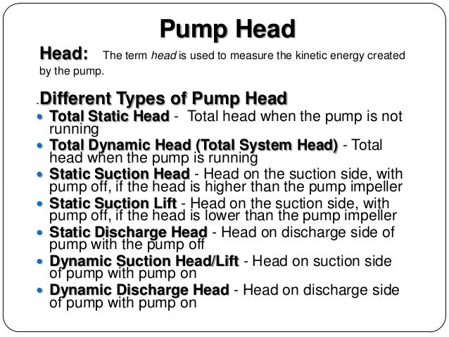 Various types of pumps pdf free