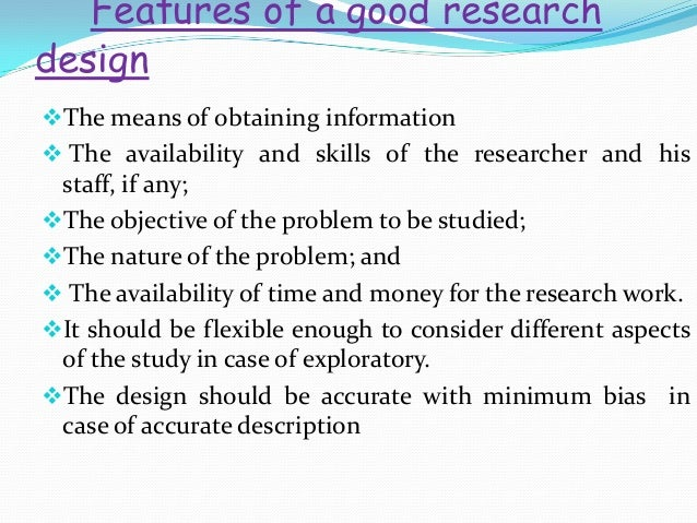 Criminology qualities of a good research problem