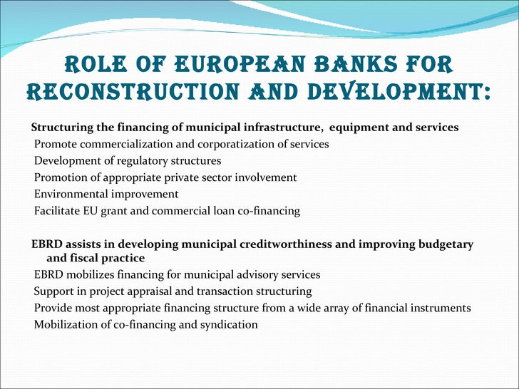 role of financial institution in economy The role of institutions in the financial system first, on the nexus between economic growth and financial intermediation.