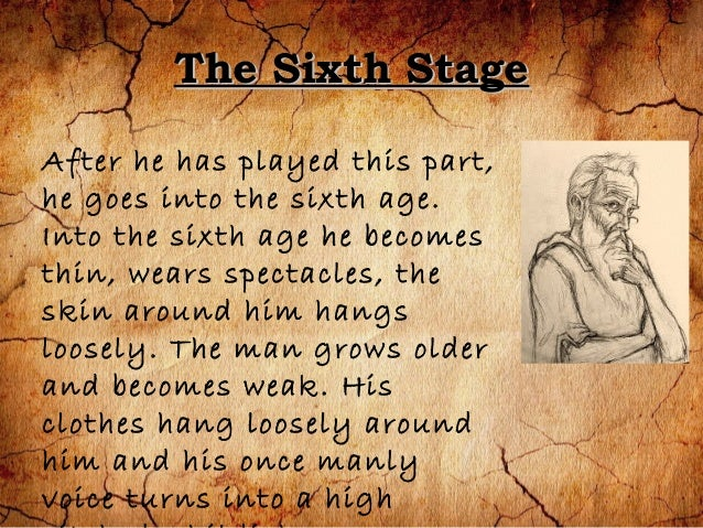 seven ages poem by william shakespeare