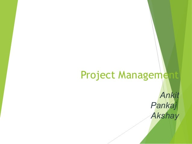 ppt on software project management
