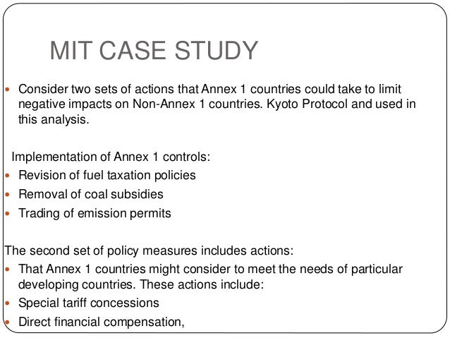 kyoto protocol thesis statement
