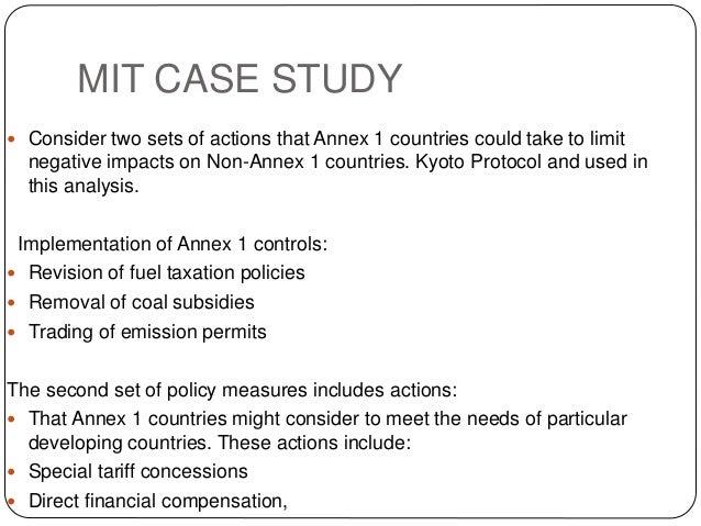 kyoto protocol thesis