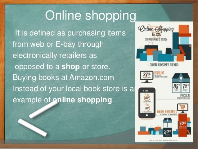 essay online shopping traditional shopping Consumers today have many options to find and purchase the products that they enjoy in addition to mail order and telephone shopping, the people can travel to more places more easily to.