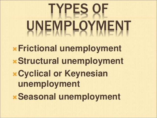 unemployment types and causes Causes of unemployment some people voluntarily quit unfulfilling jobs they  have the luxury to search until they find just the right opportunity it is also caused .