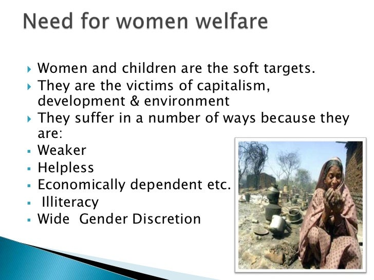 essay on women and child welfare Women and childdevelopmenta step towards all round development.