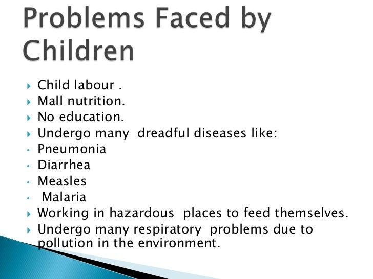    Orphans, abandoned & destitute children   Missing or run-away children   Street & working children   Children of se...