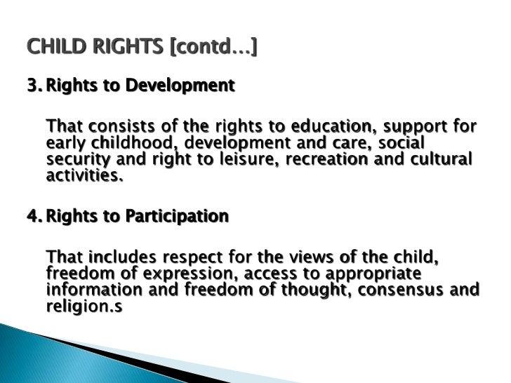    The World Summit on Children, held on September 30, 1990 has    focused agenda for the well being of the children targ...