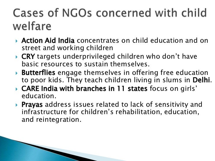 Ppt on women and child welfare