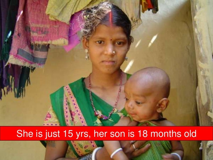 She is just 15 yrs, her son is 18 months old