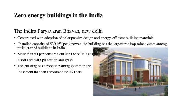 Ppt On Zero Energy Building