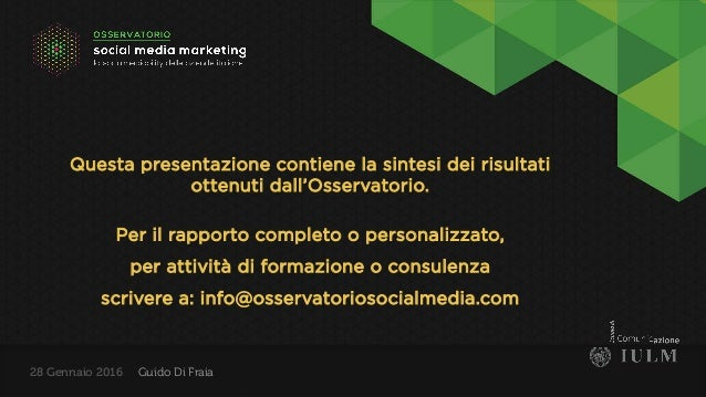 La SocialMediAbility delle Aziende Italiane - 2016 Slide 2
