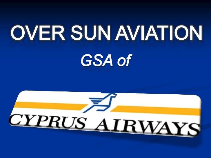 OVER SUN AVIATION<br />GSA of<br />