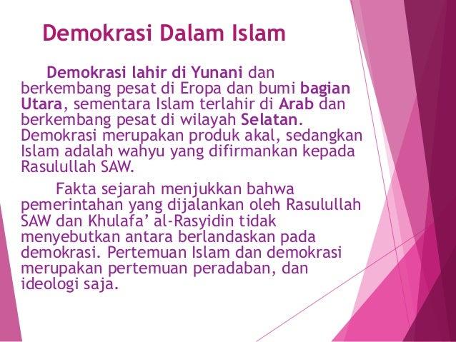 Pandangan Islam Terhadap Politik Dan Demokrasi