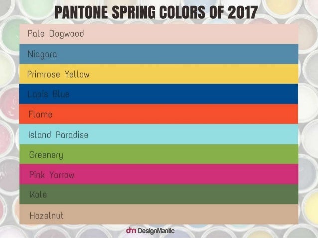 Enchanting Color Palettes Inspired By Pantone Spring Color Trends