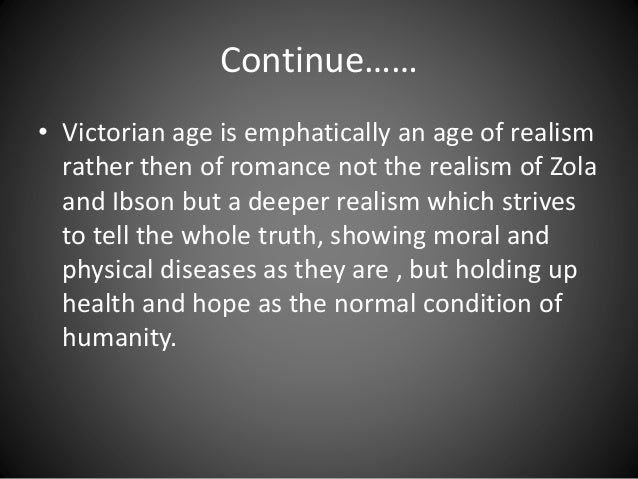 romantic and victorian age