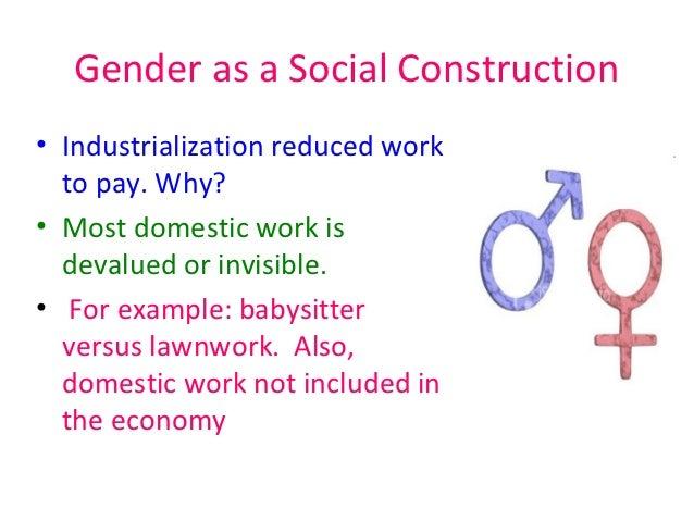 Social construction of gender cultural studies essay