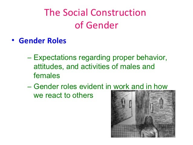 the social construction of gender By sally raskoff is it easier to conceive of race/ethnicity or sex/gender as socially  constructed categories a recent assessment of students'.