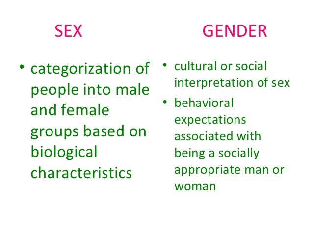 gender a socially constructed ideal essay
