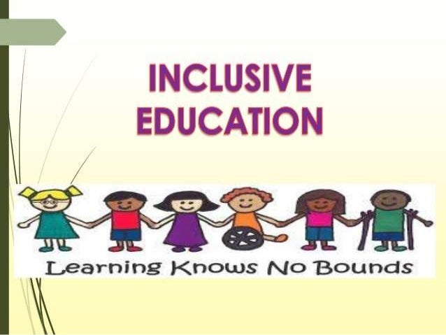 PRINCIPLES OF INCLUSION AND NECESSARY RESOURCES Adequate Support And  Services. Well Designed Individualized ...