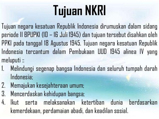 Apa Tujuan Negara Republik Indonesia - Berbagi Informasi