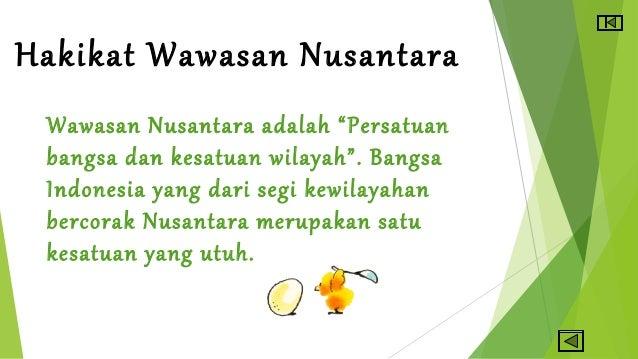 Ppt Pkn Wawasan Nusantara